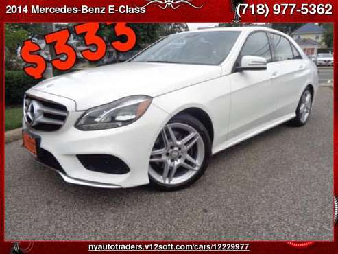 2014 Mercedes-Benz E-Class 4dr Sdn E350 Sport 4MATIC for sale in Valley Stream, NY