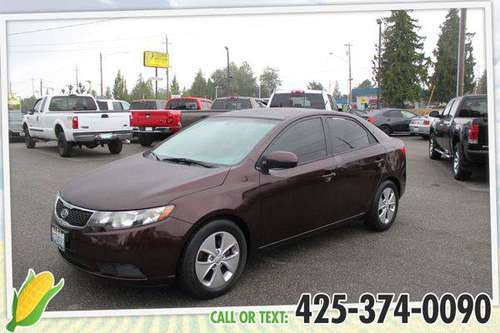2011 Kia Forte EX - GET APPROVED TODAY!!! for sale in Everett, WA