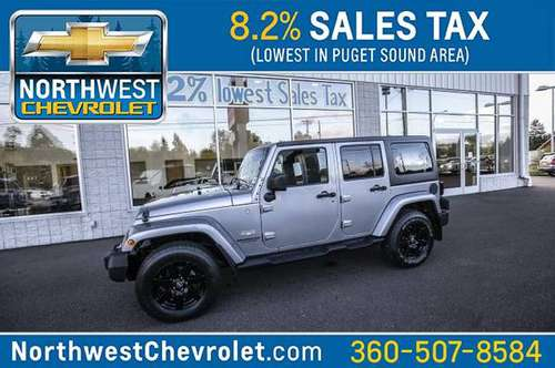 2014 Jeep Wrangler Unlimited Sahara for sale in McKenna, WA