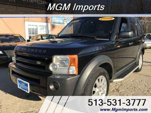 2006 Land Rover LR3 SE 4WD SE 4dr SUV - ALL CREDIT WELCOME! for sale in Cincinnati, OH