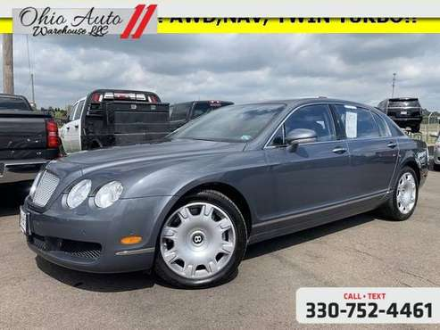 2007 Bentley Continental Flying Spur Base AWD TwinTurbo W12 Nav Roof C for sale in Canton, WV