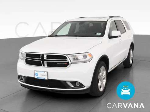 2015 Dodge Durango Limited Sport Utility 4D suv White - FINANCE... for sale in Sausalito, CA