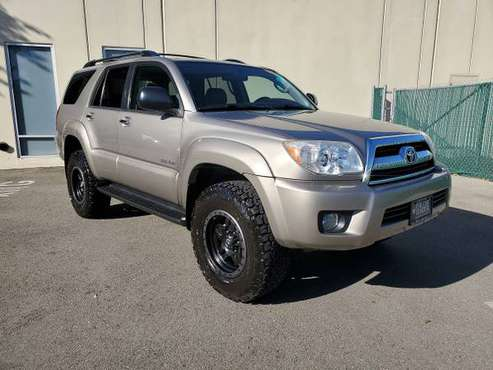 2008 Toyota 4Runner Sr5 4WD Lifted Low Miles! for sale in Pleasanton, CA
