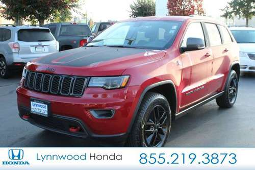 2017 Jeep Grand Cherokee Trailhawk for sale in Edmonds, WA