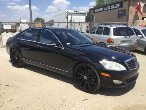 2008 MERCEDES BENZ S550 4MATIC for sale in Lincoln, MO