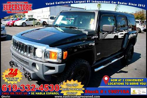 2006 HUMMER H3 Four Wheel Drive -EZ FINANCING-LOW DOWN! for sale in El Cajon, CA