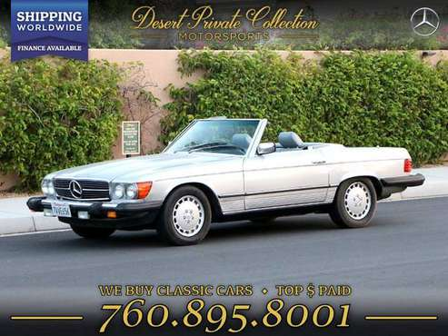 1983 Mercedes-Benz 380SL Low Miles for sale by Desert Private... for sale in Palm Desert , CA