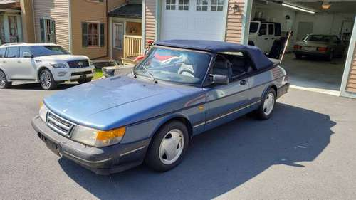 1993 Saab 900 Turbo Convertible for sale in Honesdale, PA