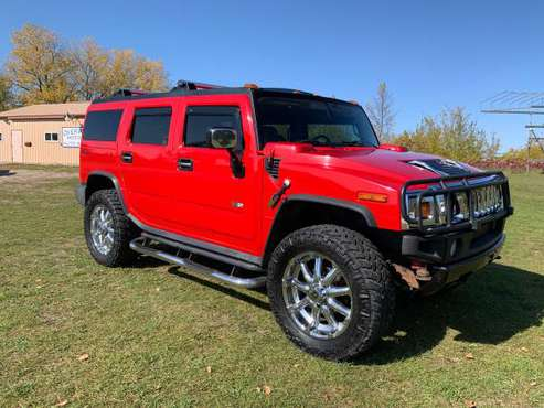 2004 Hummer H2 Victory Red Limited Edition for sale in Detroit Lakes, ND