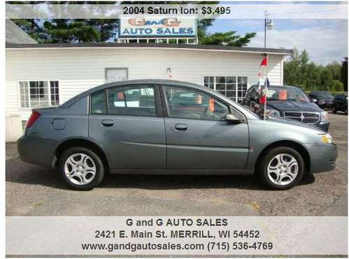 2004 Saturn Ion 2 4dr Sedan 127309 Miles for sale in Merrill, WI