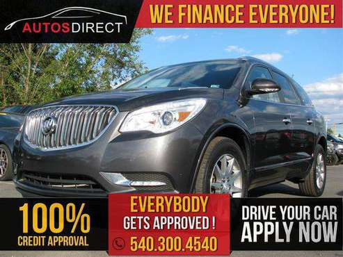 2016 BUICK ENCLAVE Leather $0 DOWN PAYMENT PROGRAM!! for sale in Fredericksburg, VA
