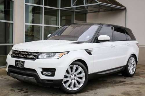 2016 Land Rover Range Rover Sport 4x4 4WD Certified V6 Diesel SE SUV for sale in Bellevue, WA