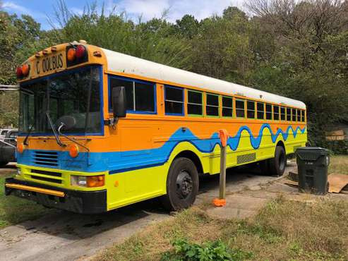 COOL Bus - My retired school bus, partially renovated for sale in Chattanooga, TN
