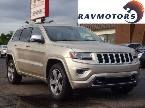 2014 Jeep Grand Cherokee 4x4 Overland for sale in Burnsville, MN