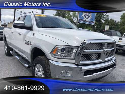 2018 Dodge Ram 2500 Crew Cab 4x4 MEGA CAB LARAMIE 1-OWNER!!! - cars... for sale in Finksburg, District Of Columbia