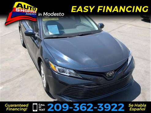 2018 Toyota Camry LE Sedan 4D for sale in Modesto, CA