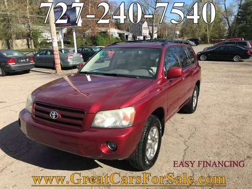 2006 Toyota Highlander 4dr SUV V6 4WD w/3rd Row==Clean... for sale in Stoughton, MA