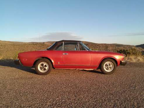 1979 Fiat Spider for sale in Camp Verde, AZ