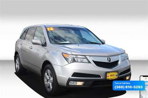 2012 Acura MDX 3.7L for sale in Bellingham, WA