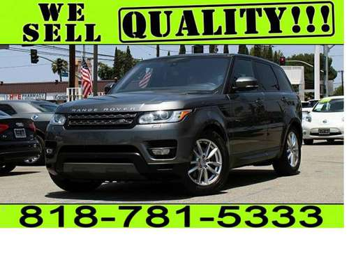 2016 LAND ROVER RANGE ROVER SPORT **$0 - $500 DOWN* BAD CREDIT NO... for sale in North Hollywood, CA