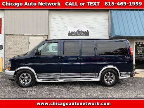 2011 Chevrolet Express Express 1500 conversion van - cars & trucks -... for sale in Mokena, MI