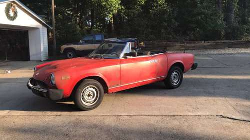 1985 Fiat Spider 2000 for sale in Holly Springs, NC