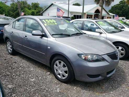 2006 MADZA 3 SEDAN**ONLY 80K MILES**COLD AC**GAS SAVER** for sale in FT.PIERCE, FL