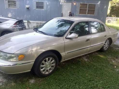 01 Lincoln continintal $500 for sale in wildwood, FL