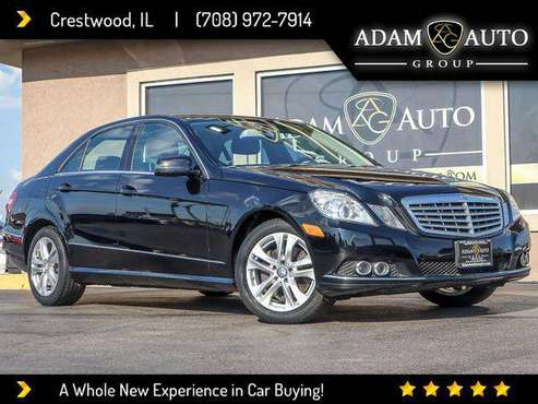 2010 Mercedes-Benz E-Class E350 Sedan 4MATIC -GET APPROVED for sale in CRESTWOOD, IL