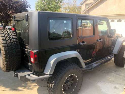 2010 Jeep Wrangler unlimited for sale in Tracy, CA