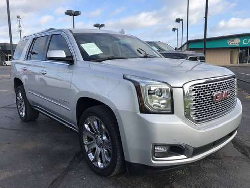 2016 GMC YUKON DENALI 4WD! LEATHER! SUNROOF! DVD! NAVIGATION! for sale in Norman, TX