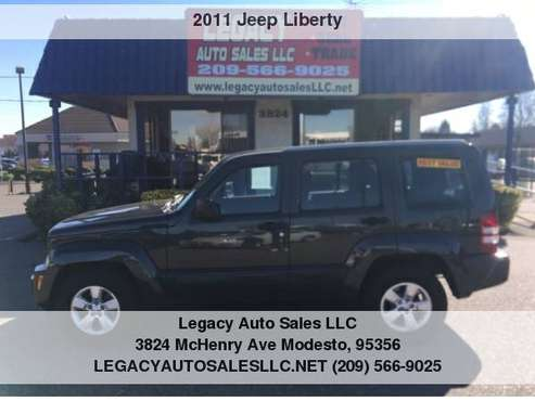 2011 Jeep Liberty RWD 4dr Sport for sale in Modesto, CA