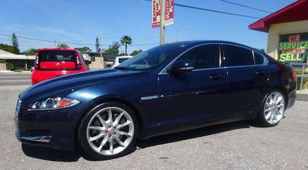 2013 JAGUAR XF SUPERCHARGED for sale in SAINT PETERSBURG, FL