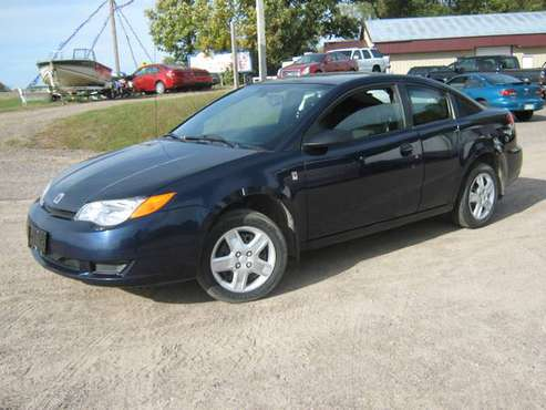 2007 SATURN ION - QUAD COUPE - 5 SPD MANUAL - FWD - 4 CYL - ONLY 98K M for sale in Princeton, MN