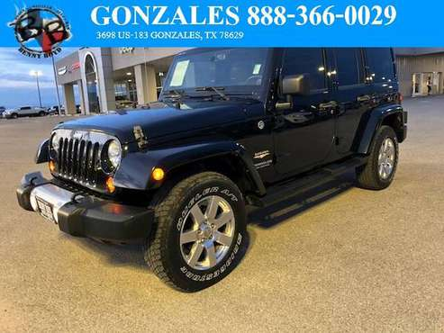2013 Jeep Wrangler Unlimited Sahara 4x4 Off Road Ready for sale in Bastrop, TX