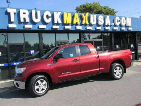 2010 Toyota Tundra SR5 Grade 4x2 4dr Double Cab Picku for sale in Petaluma , CA