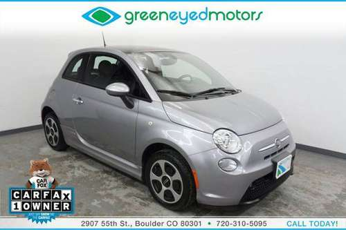 2016 FIAT 500e Electric Power Sunroof - New Tires - 112 MPGe - Super... for sale in Boulder, CO