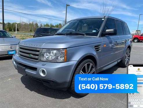 2008 LAND ROVER RANGE ROVER SPORT SPORT HSE $550 Down / $275 A Month for sale in Fredericksburg, VA