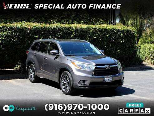 2016 Toyota Highlander XLE AWD 4dr SUV **Very Nice!** for sale in Roseville, CA