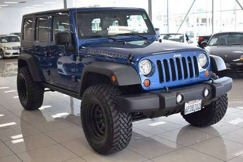 2010 Jeep Wrangler Unlimited Rubicon 4x4 4dr SUV **100s of Vehicles** for sale in Sacramento , CA