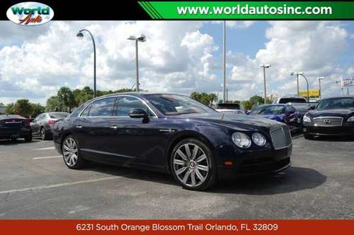 2015 Bentley Continental Flying Spur V8 $729/DOWN $300/WEEKLY for sale in Orlando, FL