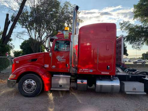2012-2013 PETERBILT 386 - SLEEPER for sale in Tracy, CA