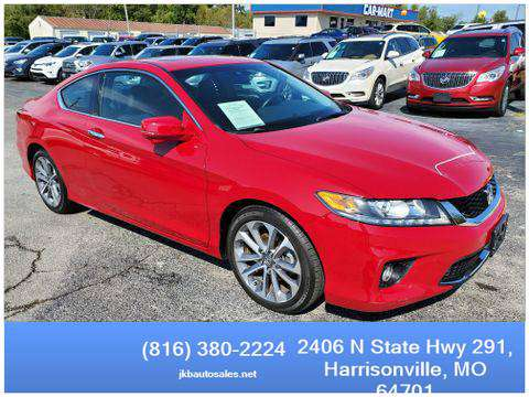 2013 Honda Accord FWD EX-L Coupe 2D Trades Welcome Financing Available for sale in Harrisonville, KS