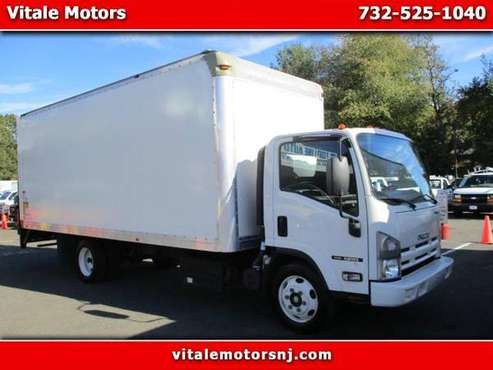 2015 Isuzu NQR NRR 20 FOOT BOX TRUCK W/ LIFTGATE 31K MILES DIESEL for sale in south amboy, NJ