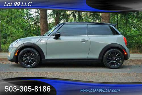 2014 *MINI* *COOPER* *S HARD TOP ONLY 36K LEATHER NEW TIRES FIAT SMA... for sale in Milwaukie, OR