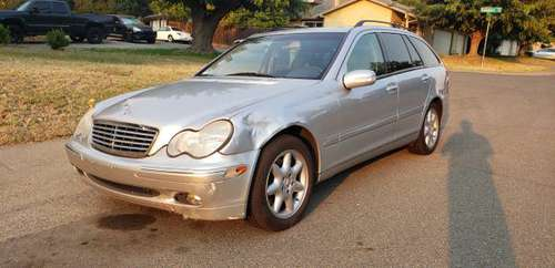 03 Mercedes C240 4 matic AWD (((smogged))) for sale in Citrus Heights, CA