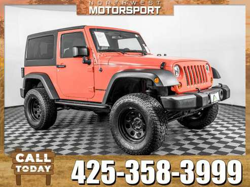 Lifted 2013 *Jeep Wrangler* Sport 4x4 for sale in Lynnwood, WA