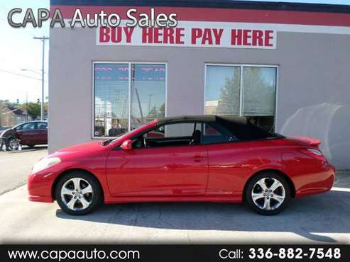 2007 Toyota Camry Solara SE Convertible for sale in High Point, NC