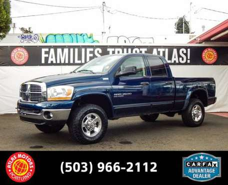 2006 Dodge Ram 2500 Crew Cab 4WD 4x4 Truck - cars & trucks - by... for sale in Portland, OR