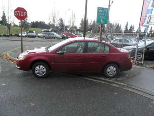 2007 *Saturn* *Ion* *4dr Sedan Manual ION 2* for sale in Marysville, WA